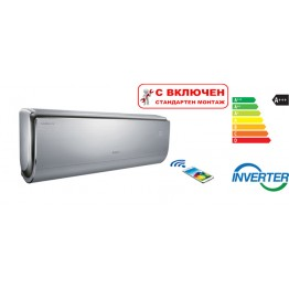 Хиперинверторен климатик Gree GWH09UB/K3DNA4F U-Crown,  9 000 BTU, Клас A+++